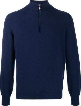 Brunello Cucinelli Half-Zip Sweater
