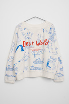 Bobo Choses Wimamp White Sweater