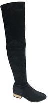 Bamboo Black Velvet Stardom Boot
