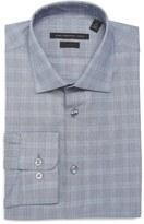 John Varvatos Soho Slim Fit Stretch Plaid Dress Shirt