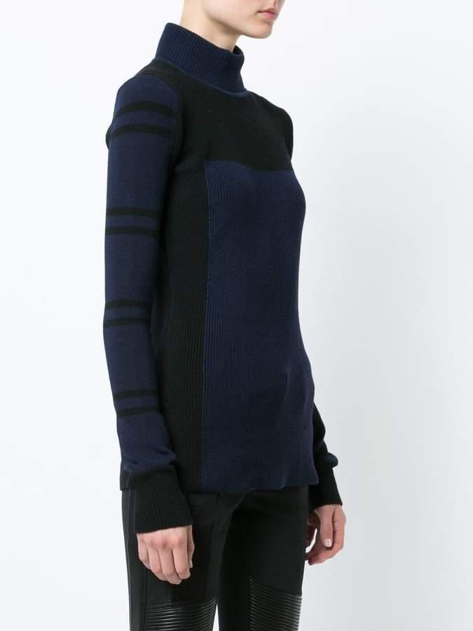 Barbara Bui ribbed patterned sweater