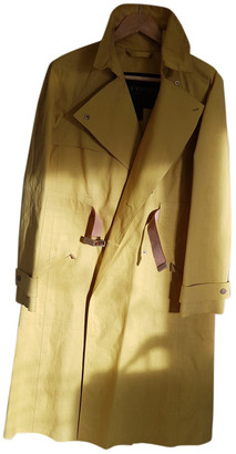Louis Vuitton Yellow Cotton Trench coats
