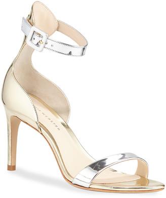 Sophia Webster Nicole Mixed Mid-Heel Sandals