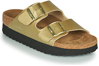 Papillio ARIZONA women's Mules / Casual Shoes in Gold