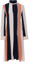 Derek Lam Long Sleeve Colorblock Dress