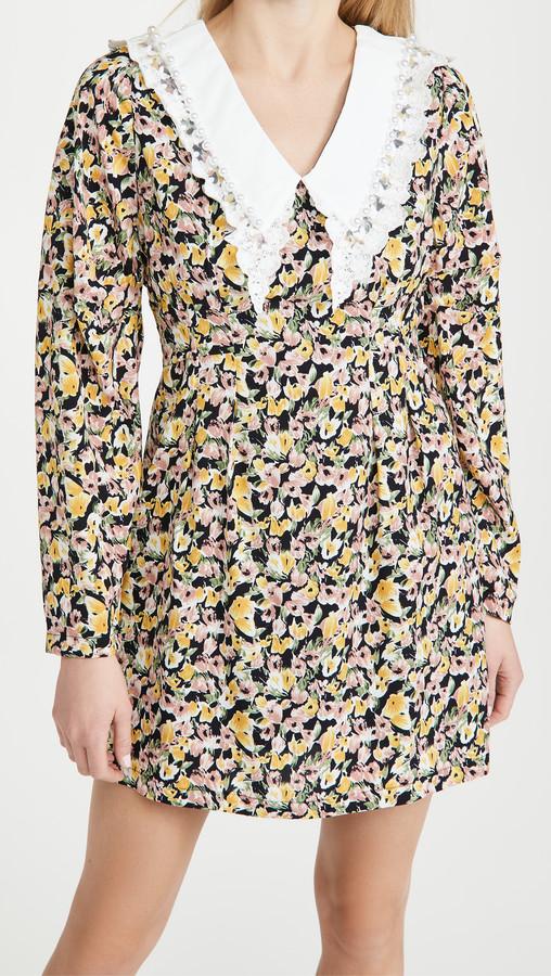 Sister Jane Centre Piece Mini Dress