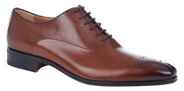 Stemar Chisel Punch Toe Oxford Shoe