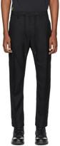 Diesel Black Wool Marlen Trousers