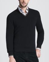 Ermenegildo Zegna Wide-Rib Sweater