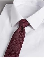 Autograph Pure Silk Floral Jacquard Tie