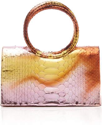 Nancy Gonzalez Regina Python Top Handle Bag