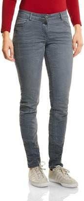 Cecil Women's 371054 Scarlett Straight Jeans