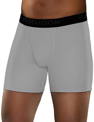 Fruit of the Loom Men's Signature Stretch-Mesh Boxer Brief (4-pack)