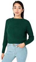 American Apparel Women's Classic Cropped Fisherman Pullover