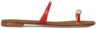 Giuseppe Zanotti Ring toe loop sandals