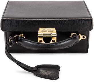 Mark Cross Grace Small Box Bag in Black | FWRD