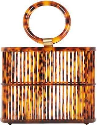 Cult Gaia Coco Mini Cage Bag