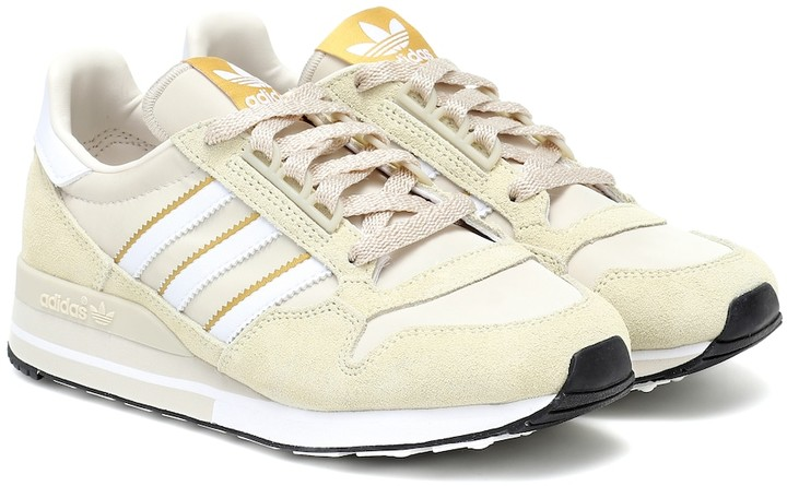 adidas ZX 500 suede and leather sneakers
