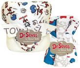 Trend Lab Dr. Seuss Cat & Things Hooded Towel & Wash Cloth Set by
