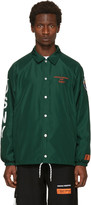 Green Dsny Edition Coach Jacket