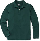 Izod Long-Sleeve Piqu Polo - Boys 8-20 and Husky