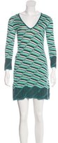 M Missoni Knit Mini Dress