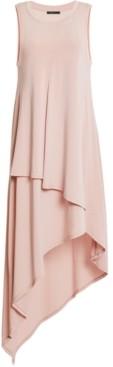 BCBGMAXAZRIA Asymmetrical-Hem Midi Dress