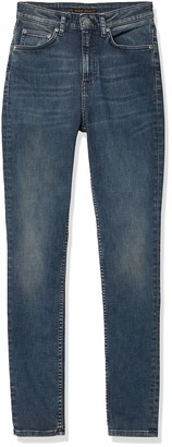 Nudie Jeans Women's Hightop Tilde Abbot Blues Jeans 30W x 30L