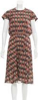 Etoile Isabel Marant Printed Midi Dress w/ Tags