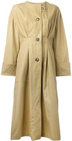 Isabel Marant Slater trench coat - women - Cotton/Linen/Flax - 36