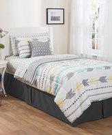 Idea Nuova White & Blue Arrow Bed-in-a-Bag Comforter Set