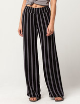 IVY & MAIN Striped Womens Wide Leg Pants