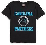 Junk Food Clothing Boy's Kick Off Carolina Panthers T-Shirt