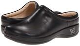 Alegria Kayla (Black Nappa Leather) Women's Slip on Shoes