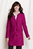 Classic Women's Tall Boiled Wool Walker Coat-Sweet Bordeaux