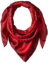 Lauren Ralph Lauren Anna Silk Square Scarf Scarves
