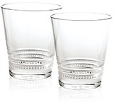 Lalique Small Facet Tumbler, Set of 2