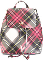 Vivienne Westwood checked backpack