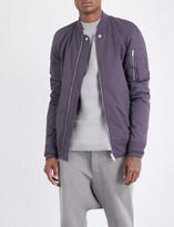 Rick Owens Zip-pocket shell bomber jacket