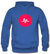 Musically Musical.ly Fan Hoodies Musically Musical.ly Fan For Boys Girls Hoodies Sweatshirts Pullover Tops