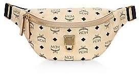 MCM Women's Small Fursten Visetos Belt Bag