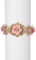 Marchesa Stone Accented Cluster Bracelet
