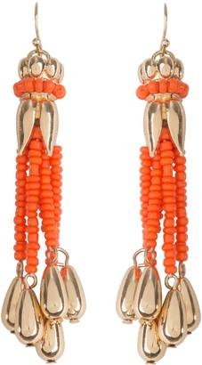 Bob Mackie Bell Flower Multi-Strand Beaded Earrings