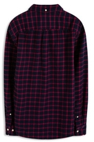 Esprit OUTLET checked print regular fit shirt