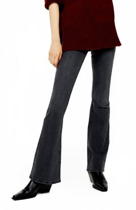 Topshop Jamie High Waist Flare Skinny Jeans