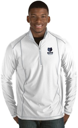 Antigua Men's Memphis Grizzlies Tempo Quarter-Zip Pullover
