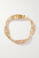 Thumbnail for your product : Bottega Veneta Twist Gold-plated Bracelet - one size