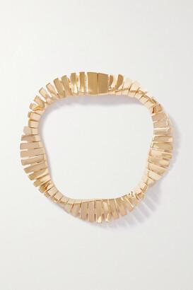 Bottega Veneta Twist Gold-plated Bracelet - one size