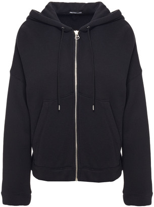 James Perse French Cotton-blend Terry Hooded Jacket