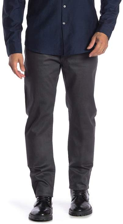 John Varvatos Coated Skinny Jeans